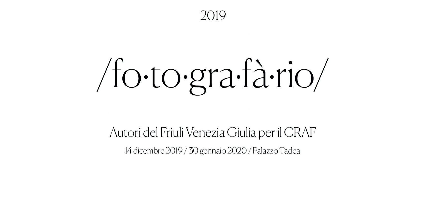 Fotografario 2019