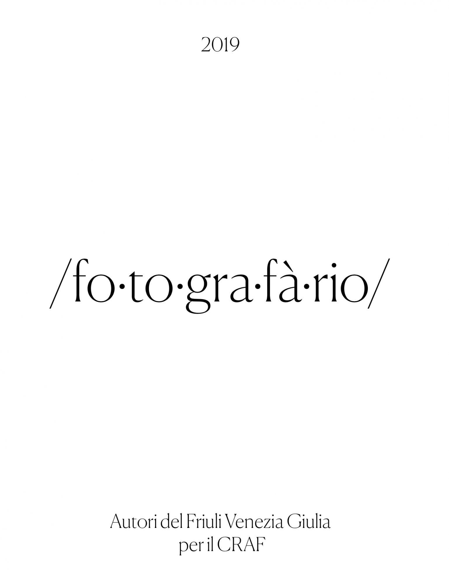 Autori del Friuli Venezia Giulia per il CRAF AA.VV. ; Spilimbergo: CRAF, c2019 ; 26 cm : ill.