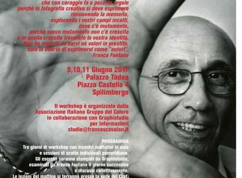 Colore e creatività : workshop con Franco Fontana