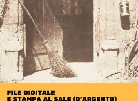 FILE DIGITALE E STAMPA AL SALE (D'ARGENTO)