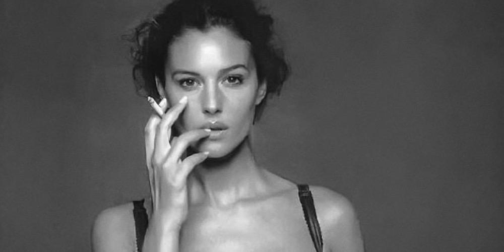 Gianpaolo Barbieri, Monica Bellucci, 2000.