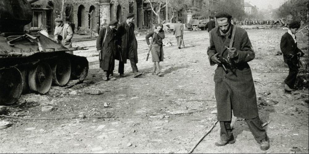 Mario De Biasi, Budapest, 1956
