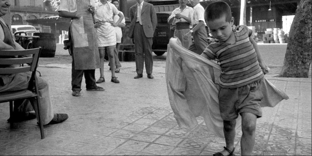 Evaristo Fusar, Aspirante Torero per le strade di Siviglia 1959