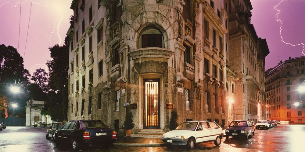 Olivo Barbieri, Milano, 1988