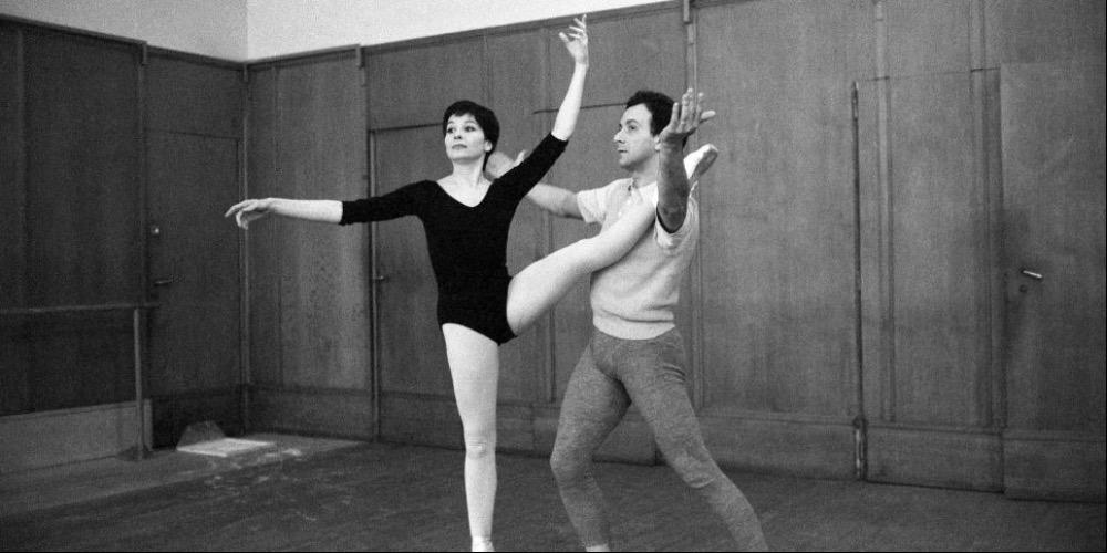 Evaristo Fusar, Jean Marie e Roland Petit, Parigi, anni 60