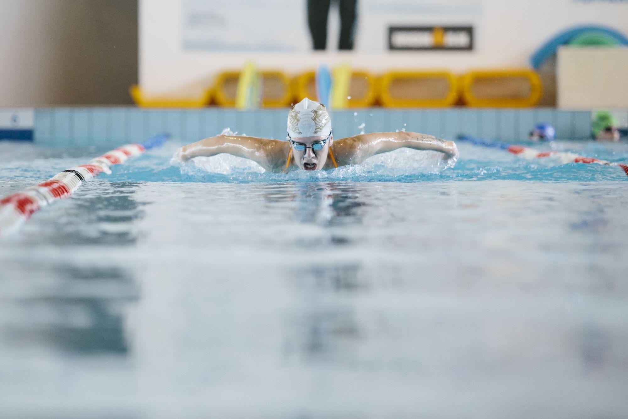 Katia Aere, campionessa paralimpica di nuoto