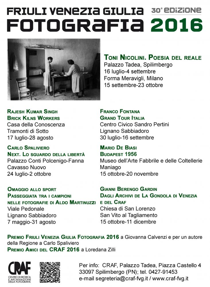 Friuli venezia giulia fotografia 2016 - Mostre friuli venezia giulia ...